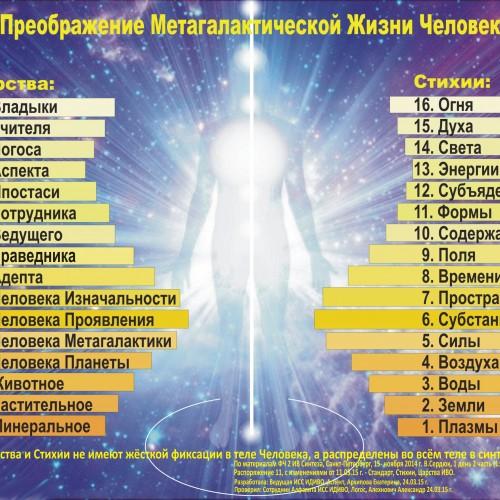 Метагалактические Царства и Стихии